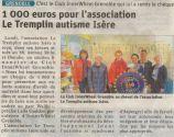 Article du Dauphiné Libéré du 25 mai 2019